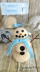 Build a Play Dough Snowman Kit