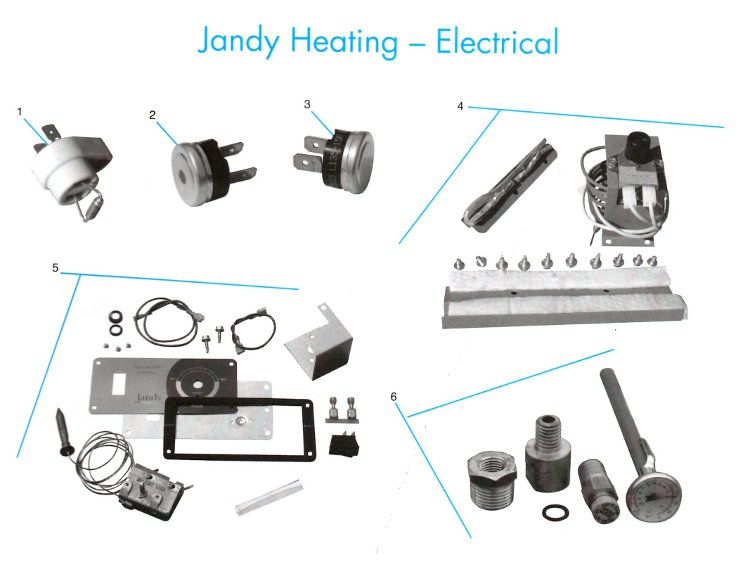 Thermostat for Jandy Laars Pool Heater R0318800