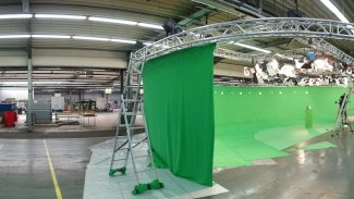 Making Of 360 Grad Halle