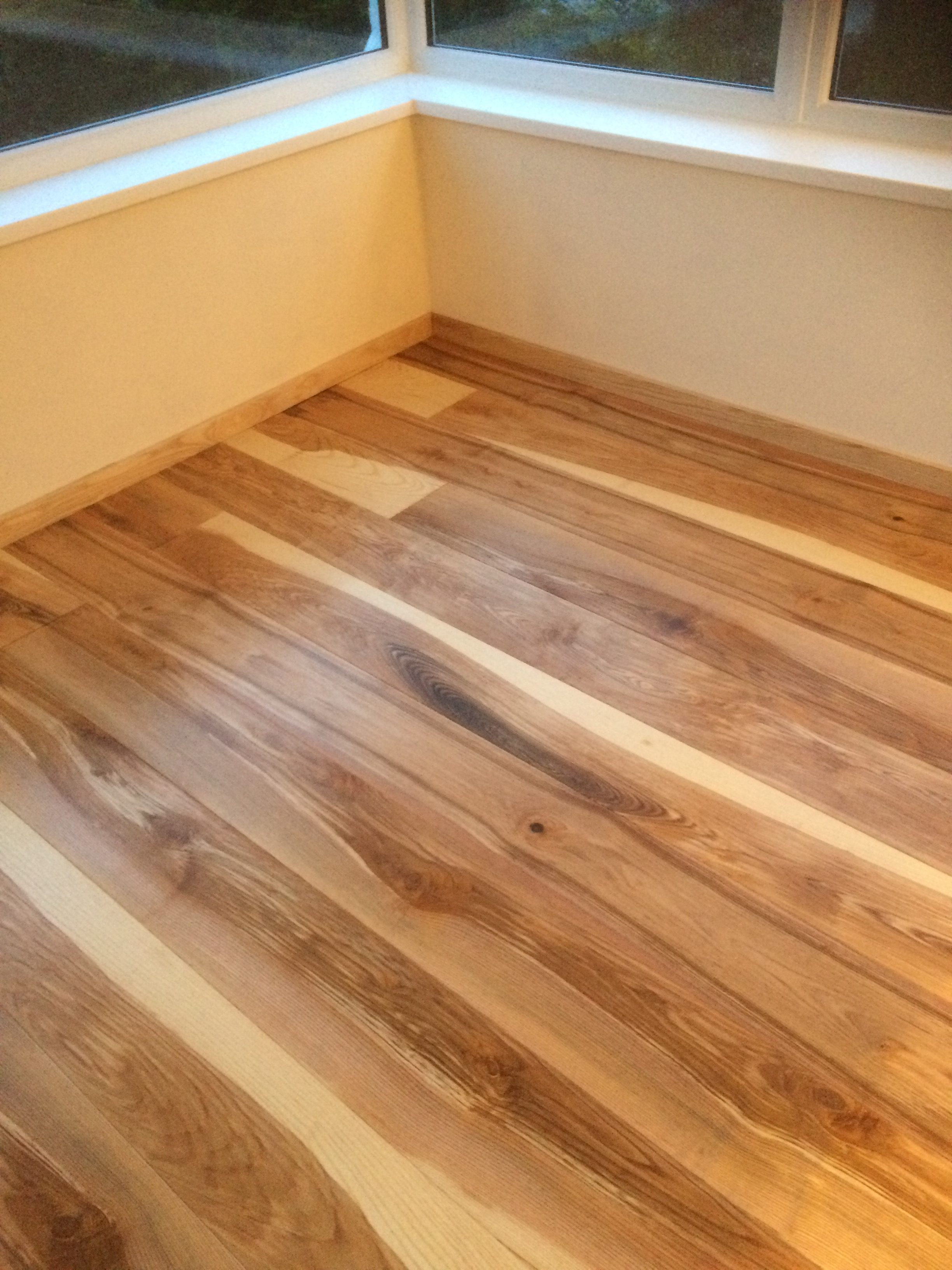 Aspen and Ash reclaimed and new engineered wood flooring