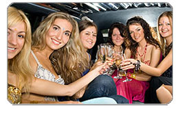 San Francisco Bay Bachelor & Bachelorette Party Limousine