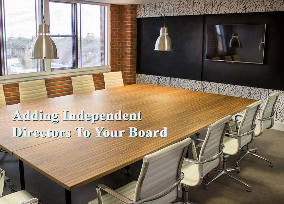 adding independent directors to your board
