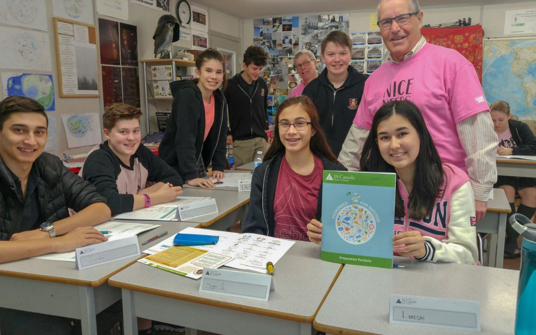 Grades Seven and Eight Increase their Financial Literacy