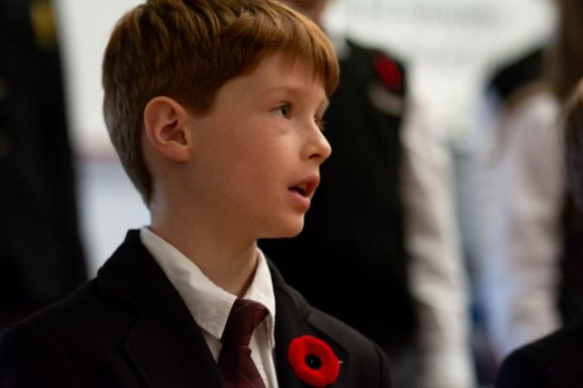 remembrance day Aspengrove School Nanaimo Independent School-20