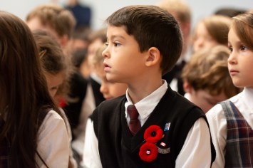 remembrance day Aspengrove School Nanaimo Independent School-22