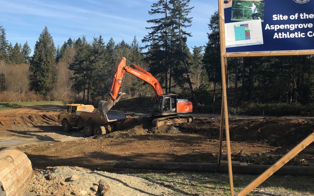 Construction of New Athletic and Activities Centre has Begun