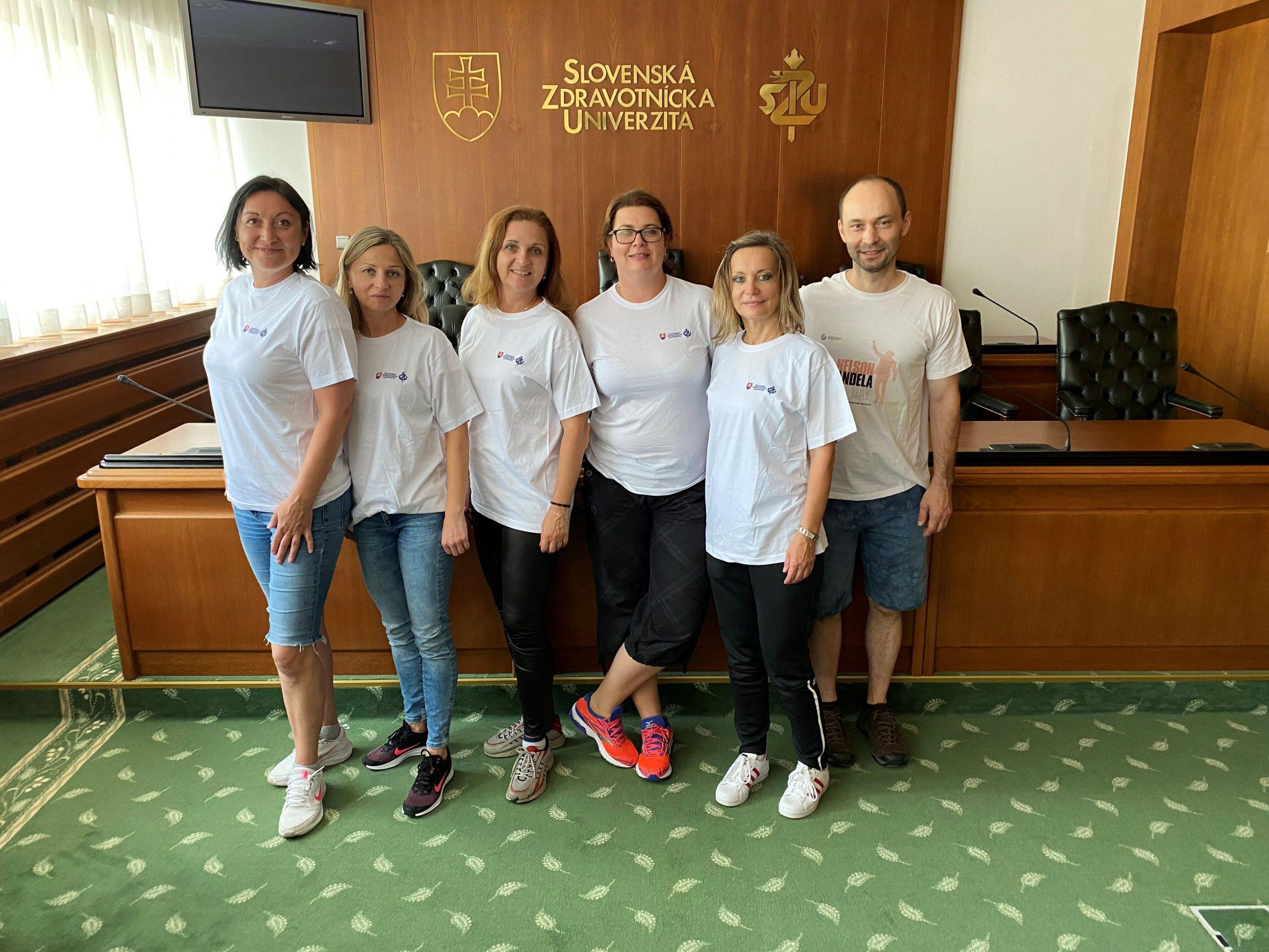 Aspen Slovakia's Mandela Day team