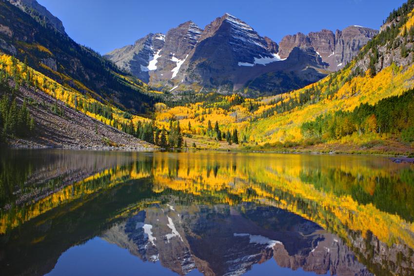 Adirondack Fall Wallpaper Maroon Bells In Colorado Aspen Square Hotel