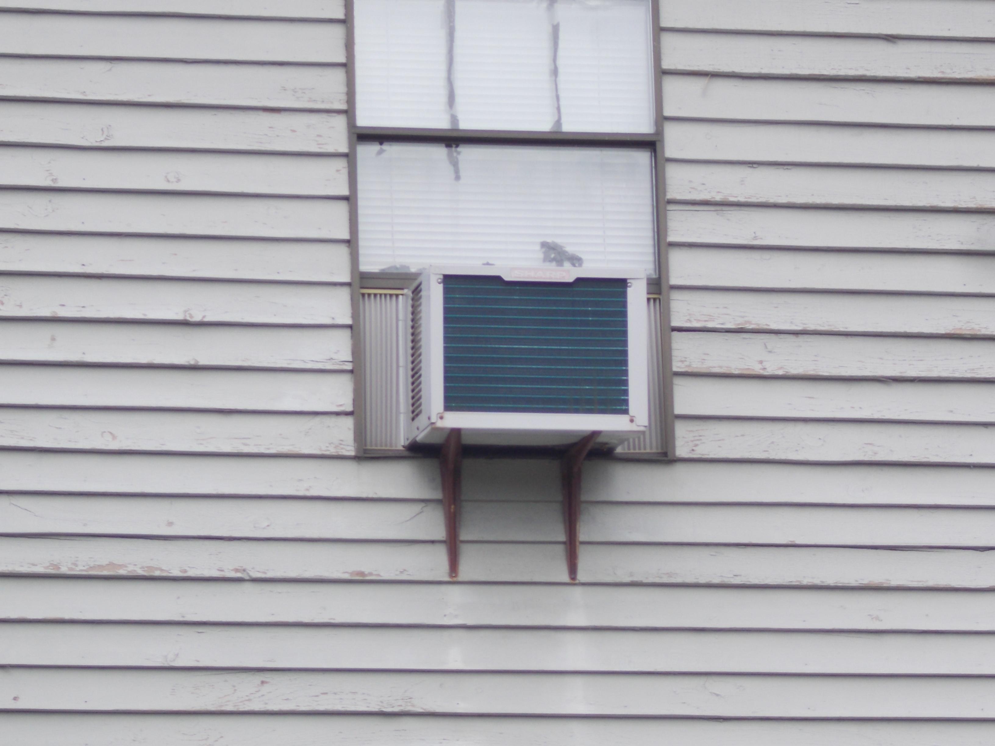 Air conditioner support brackets aspetuck village for Air conditioner bracket law