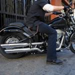 2011 Harley Davidson Blackline Asphalt Rubber