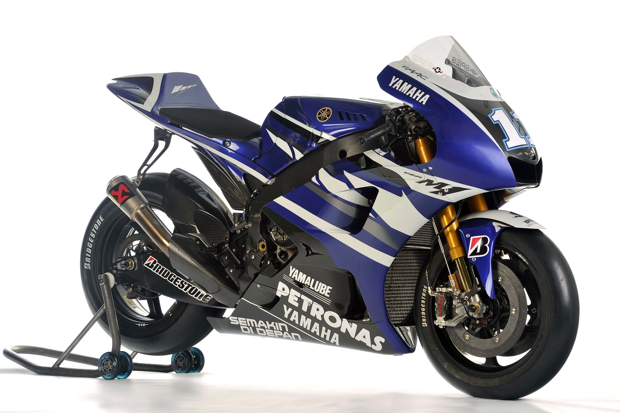 2011 Yamaha Yzr M1 Technical Specifications Asphalt Rubber