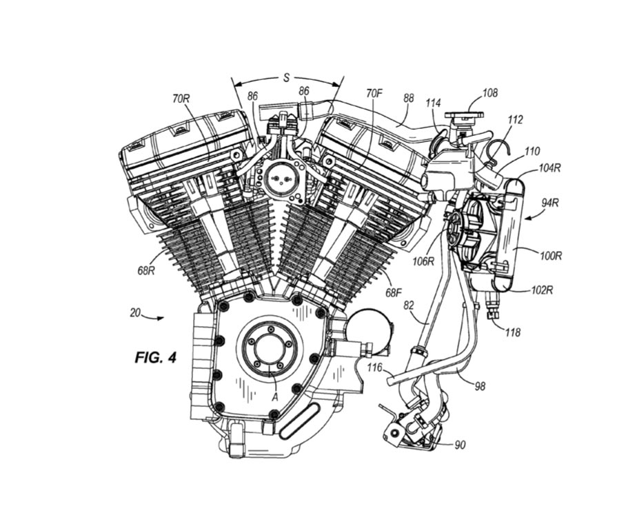There Are No Sacred Cows: Harley-Davidson Patents Cylinder