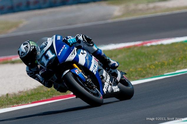 Yamaha Testing 1,000cc MotoGP Bike Monday at Brno Yamaha Racing Ben Spies MotoGP Scott Jones 3
