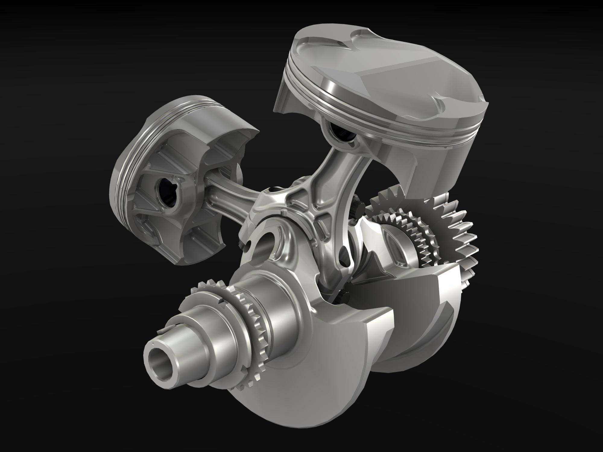 Ducati Superquadro Engine - Asphalt & Rubber
