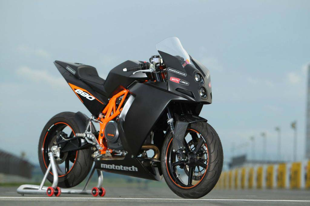 KTM RC4 690R Supermono by Mototech