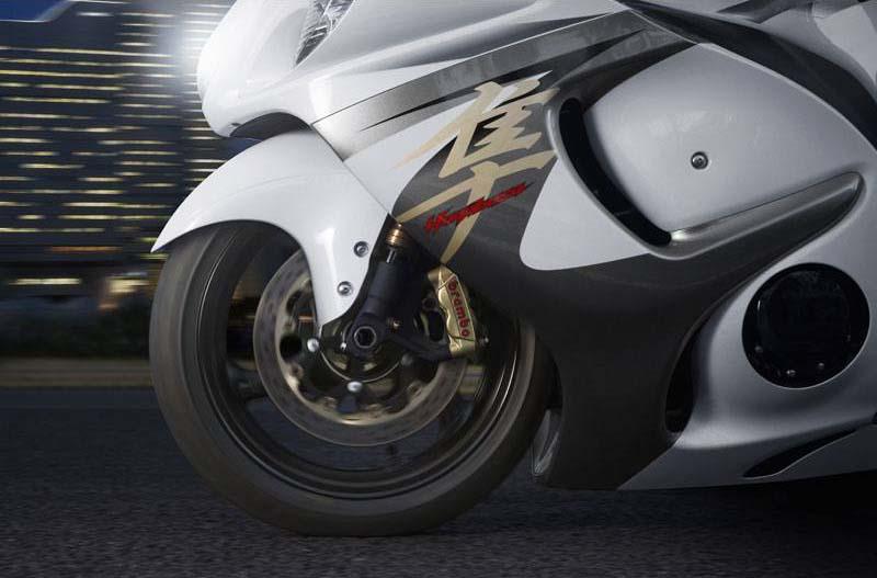 2013 Suzuki Hayabusa Gets ABS & Brembo Brakes - Asphalt & Rubber