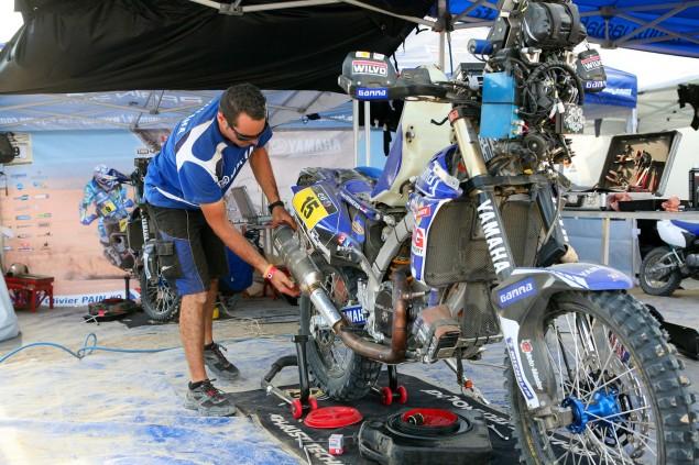 Dakar-Rally-Yamaha-Pit