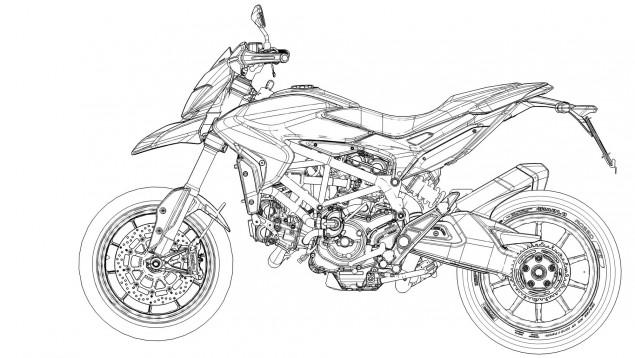 -MotorDo- Allstar — 2013 Ducati Hypermotard. Taking