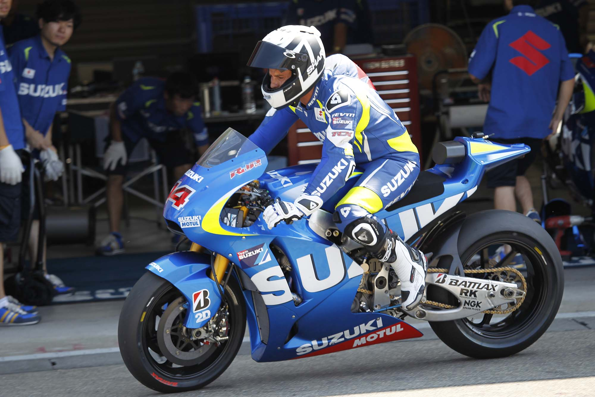 Photos: Suzuki MotoGP Team Testing at Motegi with RdP - Asphalt & Rubber