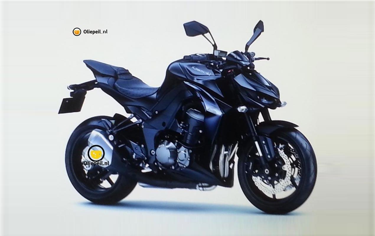 Leaked Photo of the 2014 Kawasaki Z1000 - Asphalt & Rubber