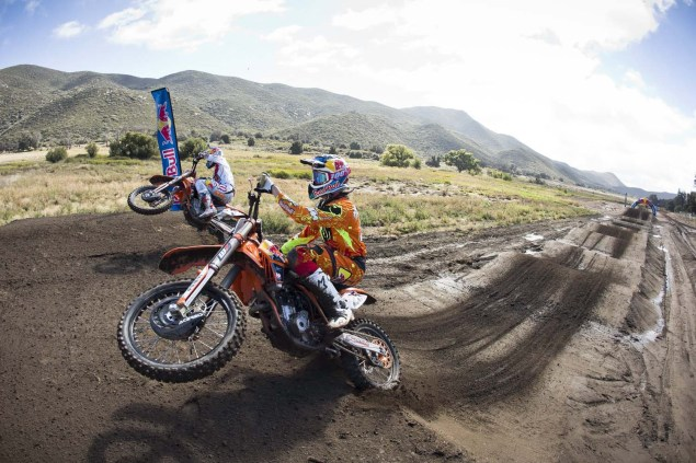 (L-R) Ryan Dungey and Marvin Musquin - Action