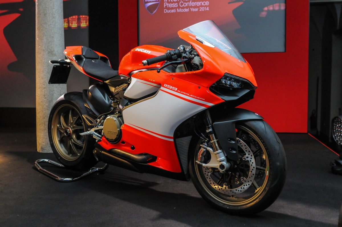 Up-Close with the Ducati 1199 Superleggera