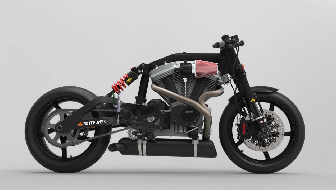 Bottpower XC1 Cafe Racer Takes Shape