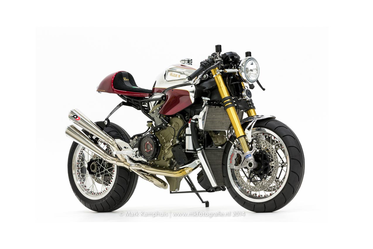 Ducati Elite II Cafe Racer By Moto Puro