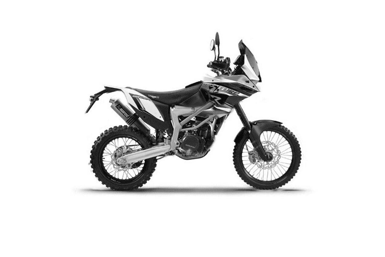 This Isn T The Ktm 390 Adventure But It Is Coming