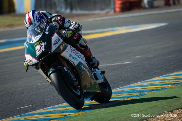 Brock Parkes Le Mans 2014