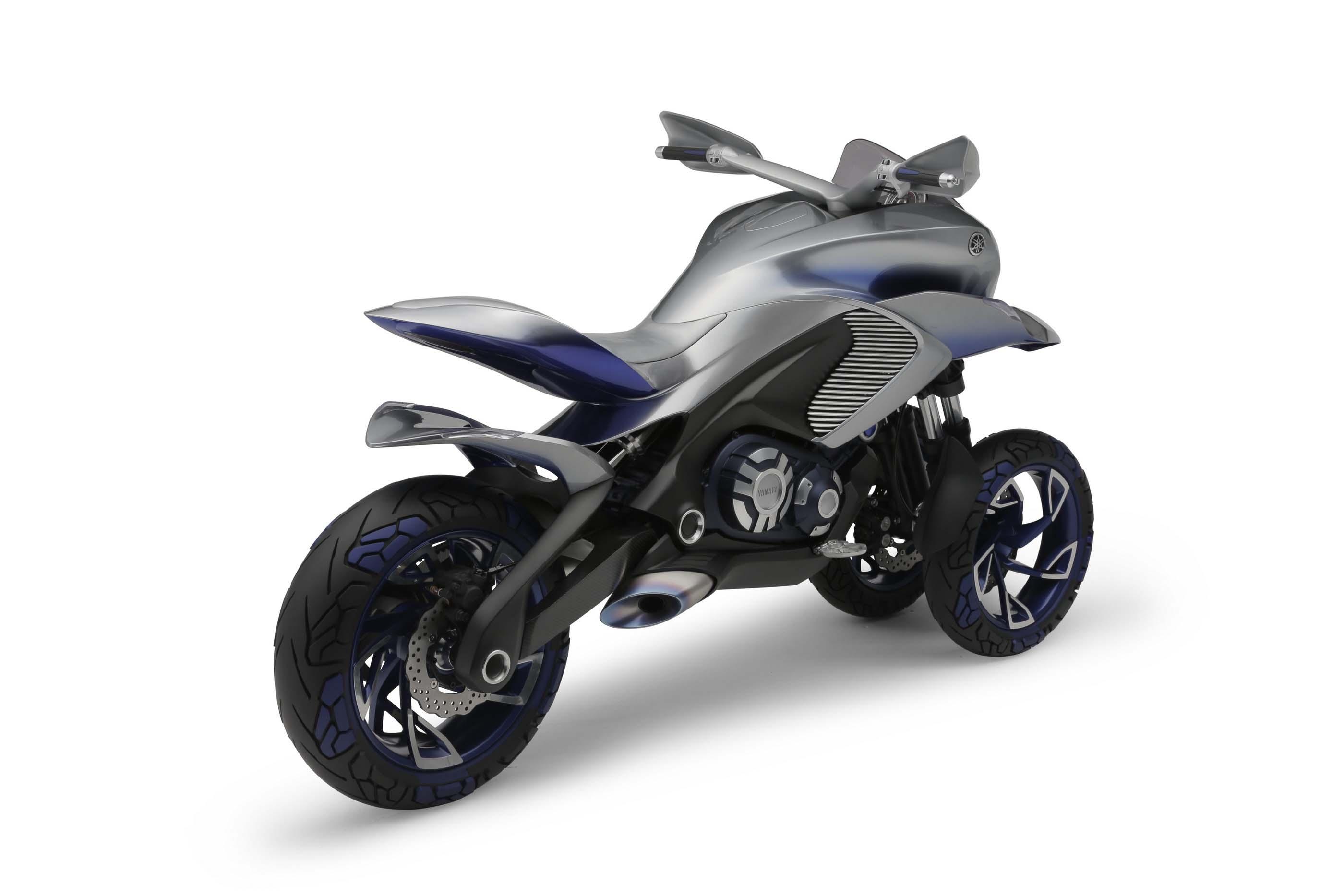 Yamaha 01gen three wheeler dual sport concept asphalt for Yamaha dual sports