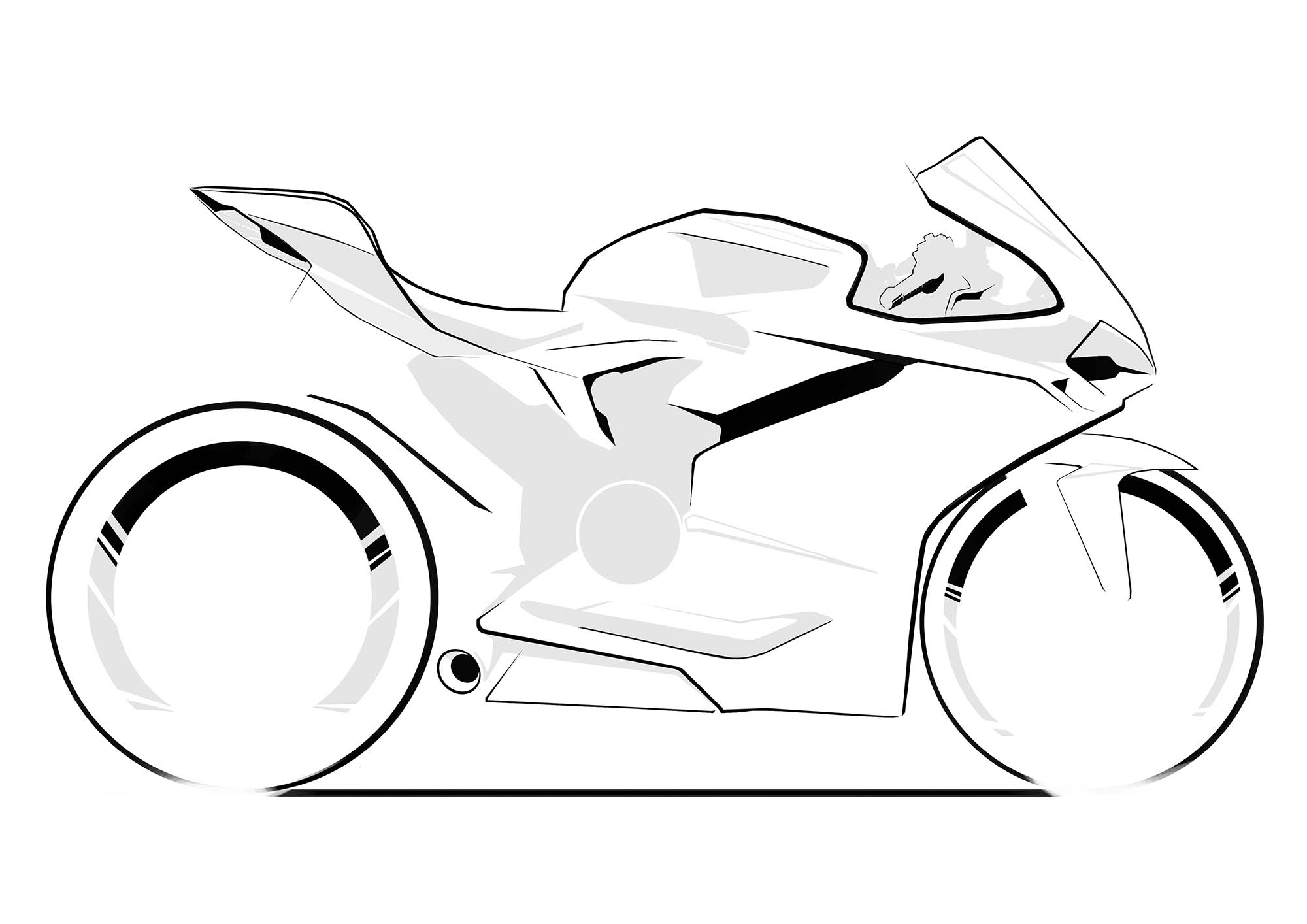 Rumor: Is Ducati Working on a Four-Cylinder Superbike