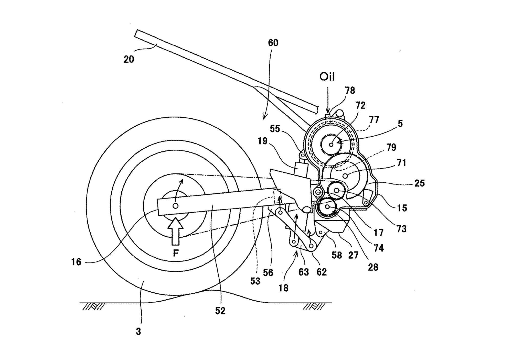 Kawasaki Applies For Electric Motorcycle Patent