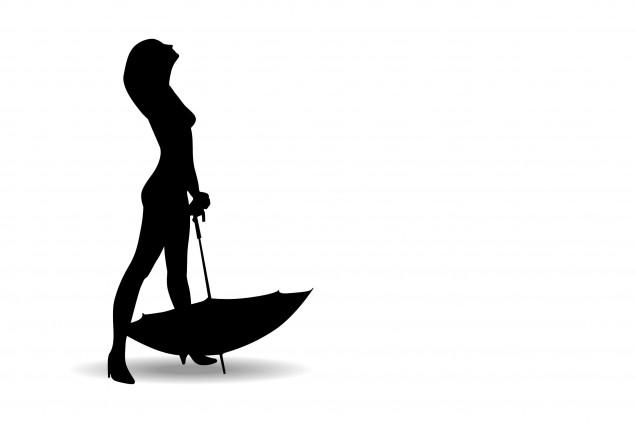 umbrell-girl-silhouette