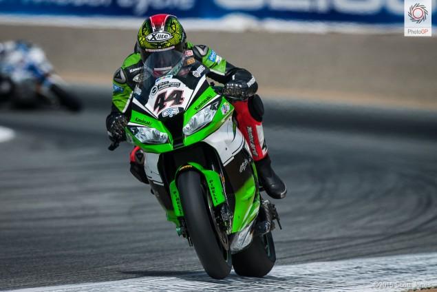 David Salom Kawasaki WSBK 2015 Laguna Seca