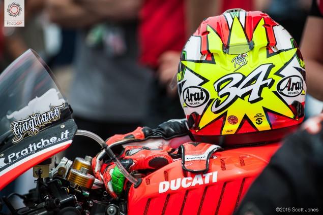 Davide Giugliano Ducati WSBK Laguna Seca