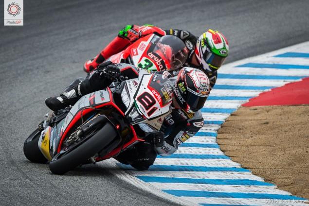 Torres Giugliano race 1 WSBK Laguna Seca