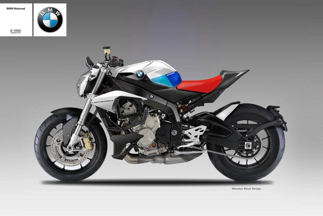 BMW S1000 Lightburner Concept by Oberdan Bezzi - Asphalt