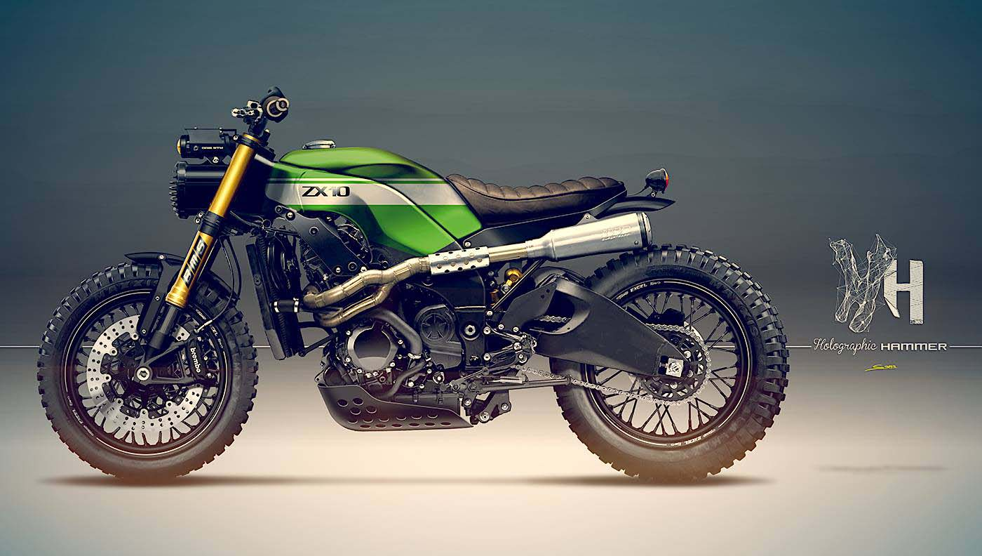 Kawasaki Ninja ZX-10R Scrambler? - ThrottleQuest