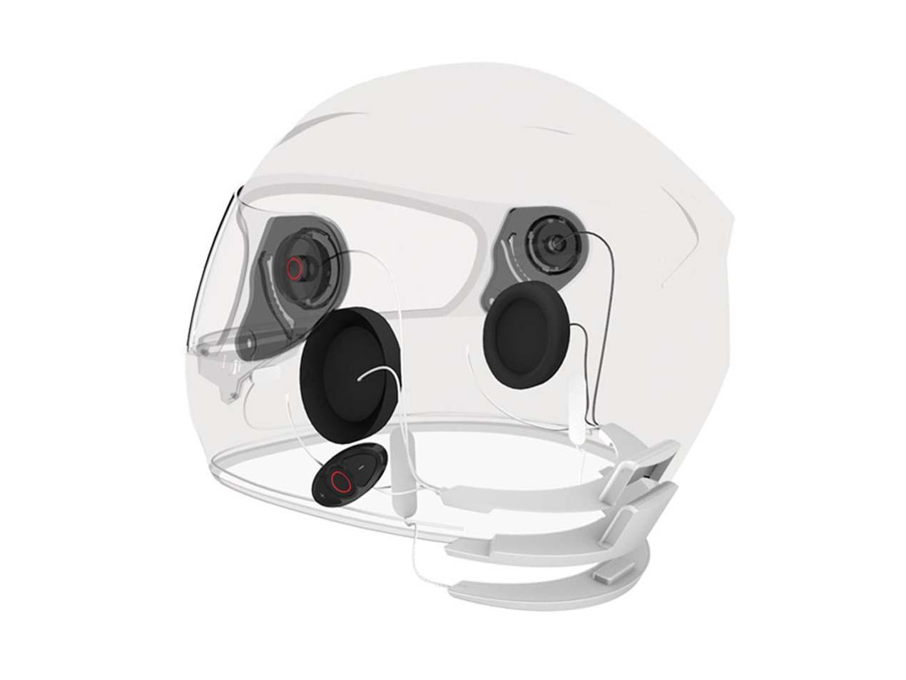 Noise Cancelling Motorcycle Helmet Speakers