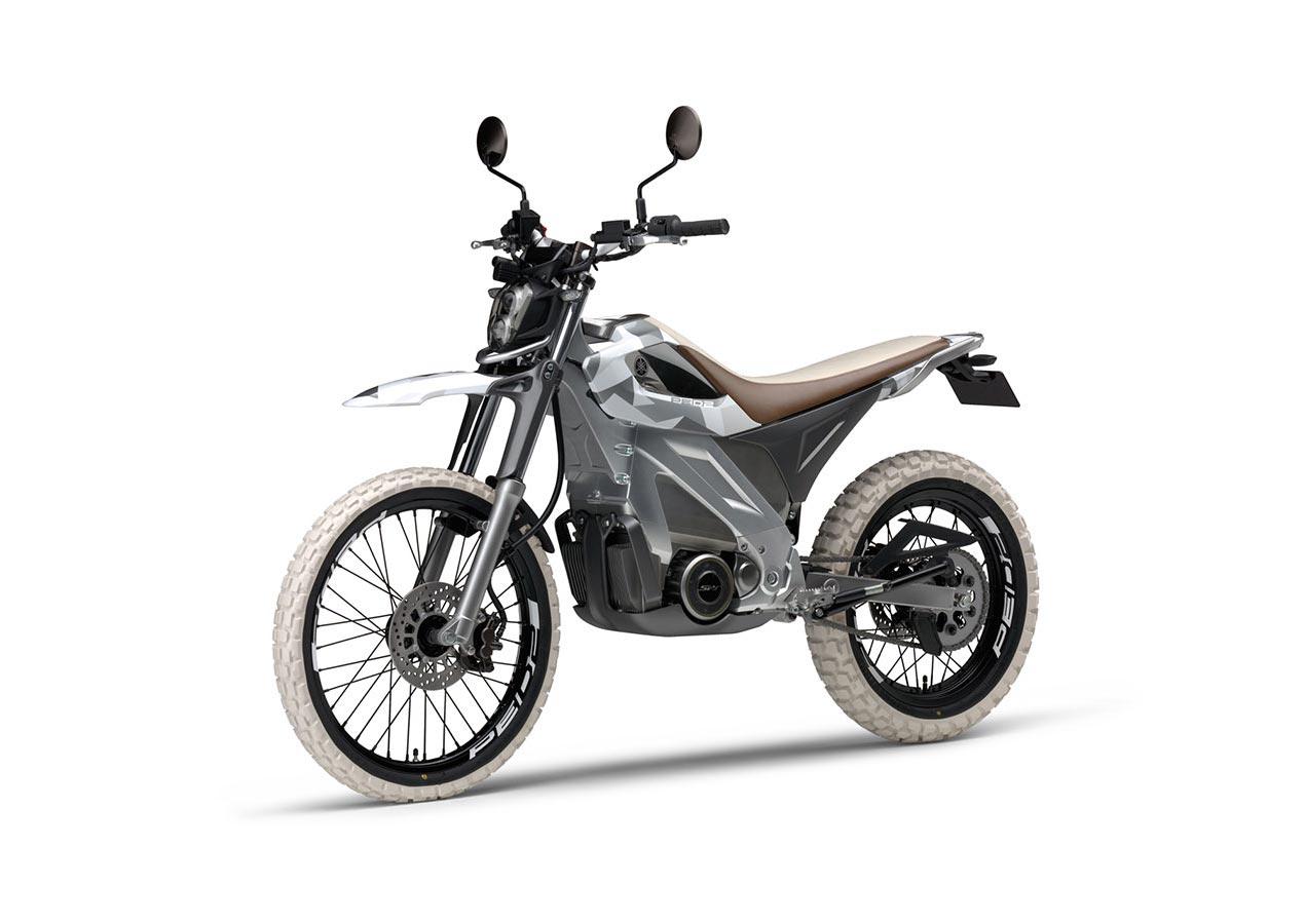Yamaha PED2 Electric Dirt Bike Concept
