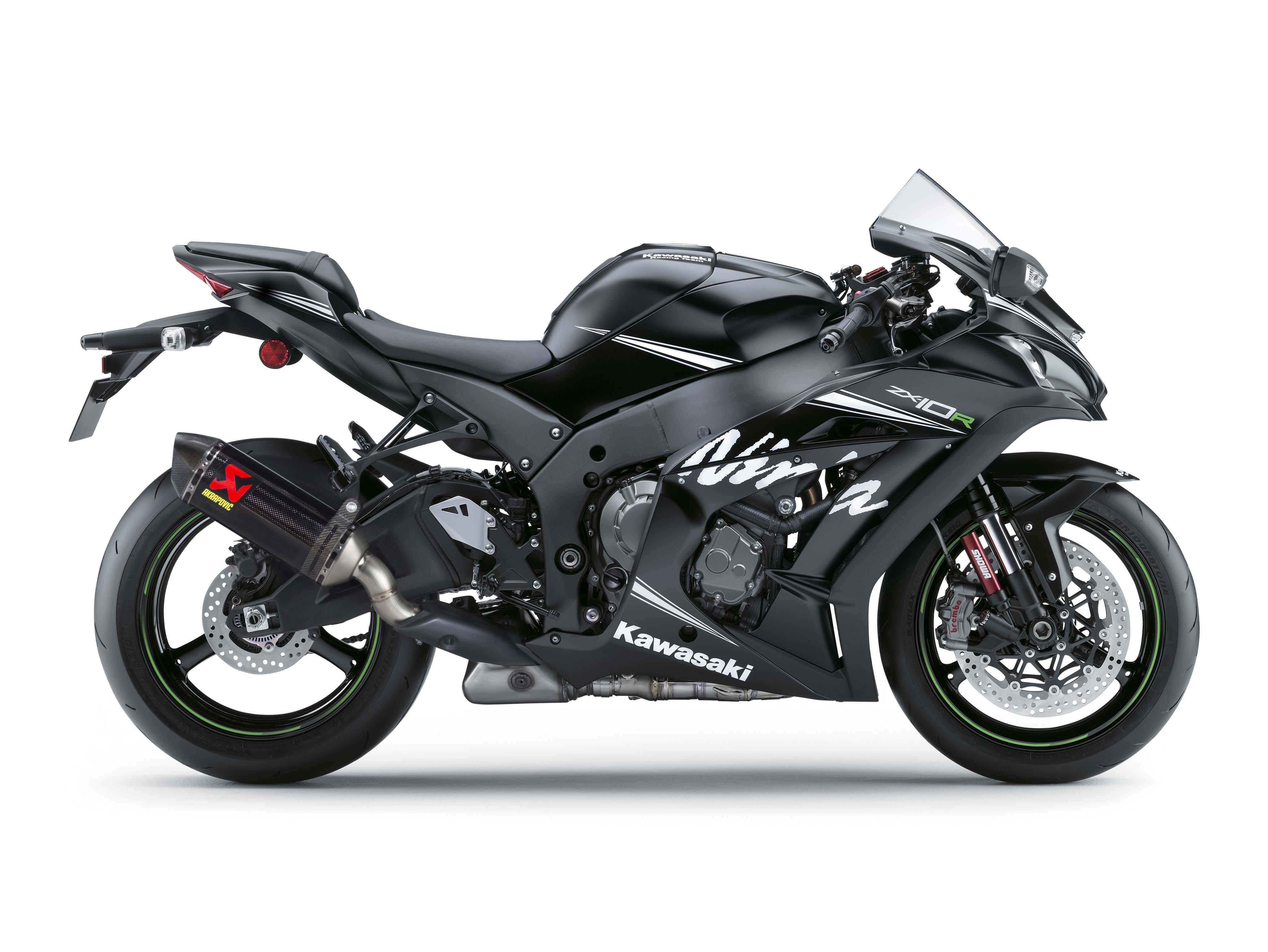 2016 Kawasaki Ninja ZX 10R Winter Test Edition