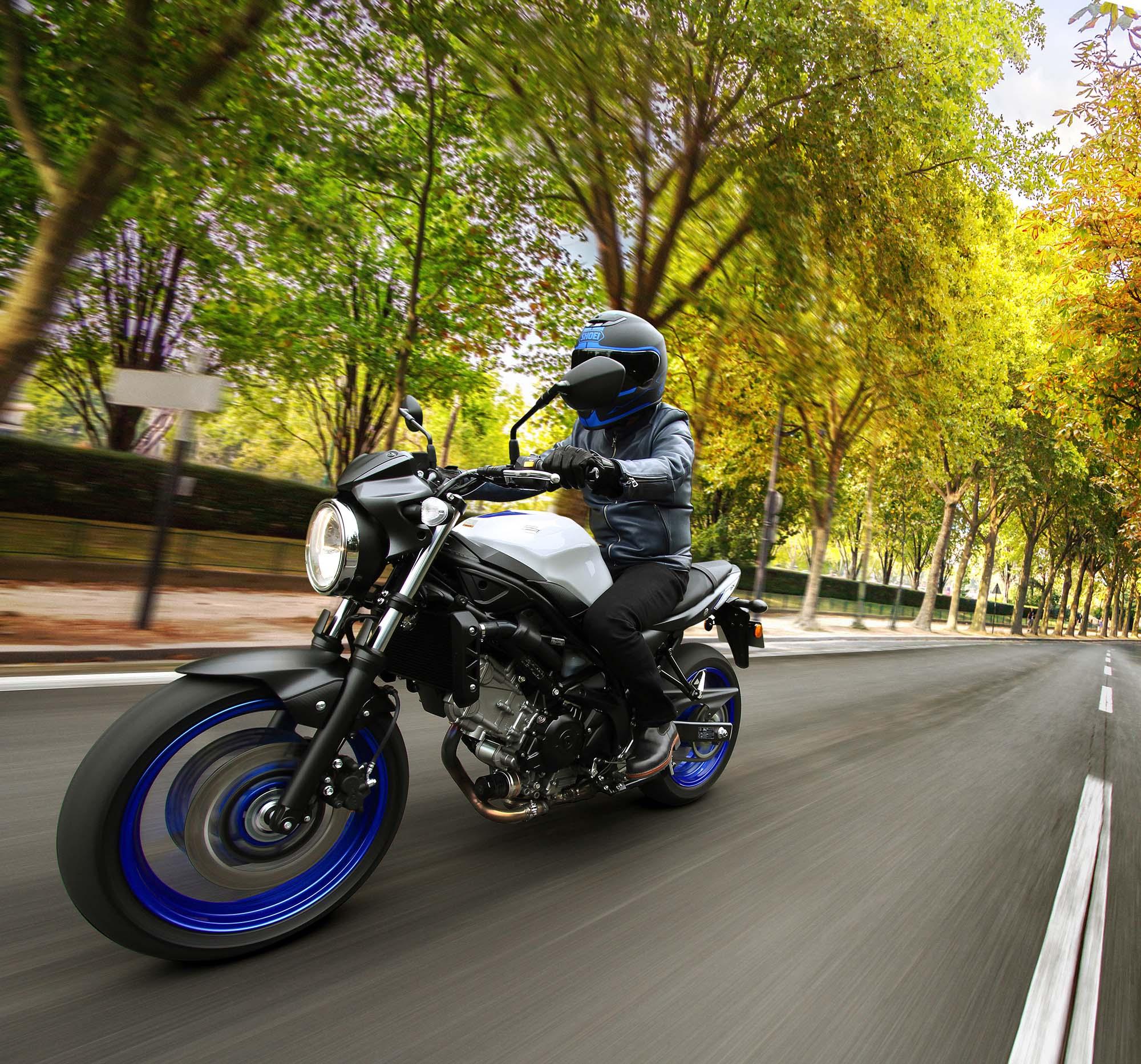 2016 Suzuki SV650 A Action 10