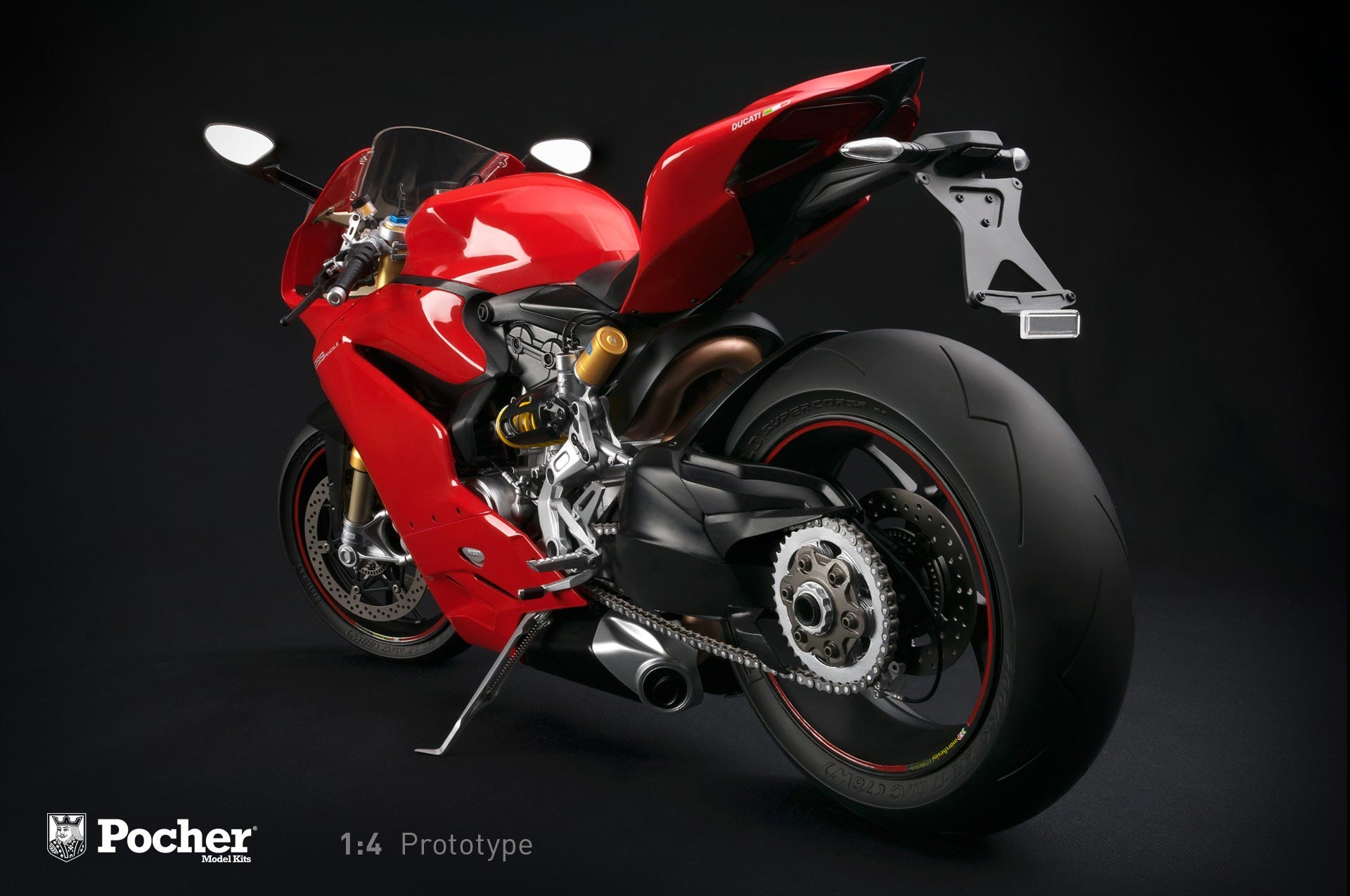 Pocher 1 4 Scale Model Of The Ducati 1299 Panigale S