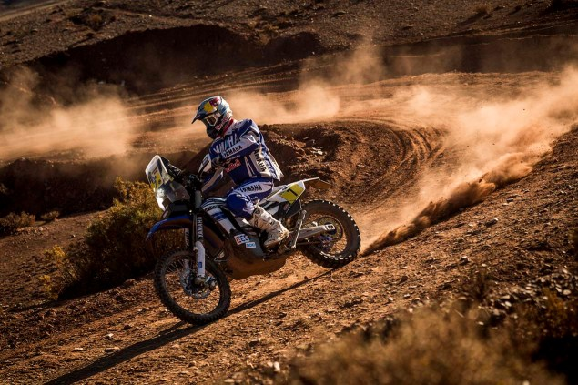 Helder Rodrigues (PRT) of Yamaha Racing Team races during stage 07 of Rally Dakar 2016 from Uyuni, Bolivia to Salta, Argentina on January 9, 2016 // Marcelo Maragni/Red Bull Content Pool // P-20160109-00087 // Usage for editorial use only // Please go to www.redbullcontentpool.com for further information. //