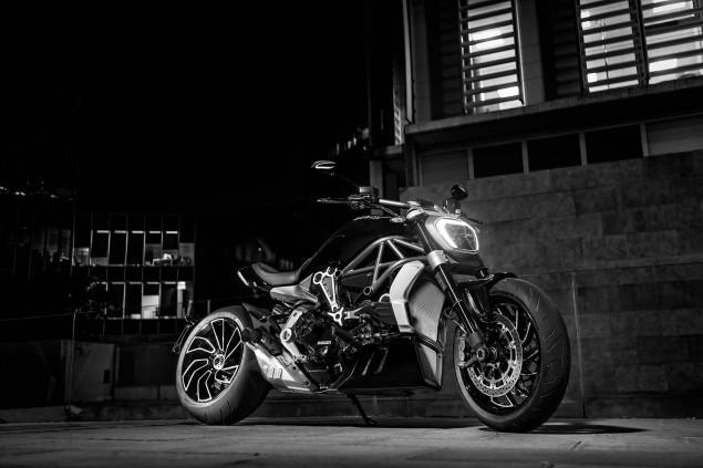 Ducati XDiavel S San Diego Studio Action 06