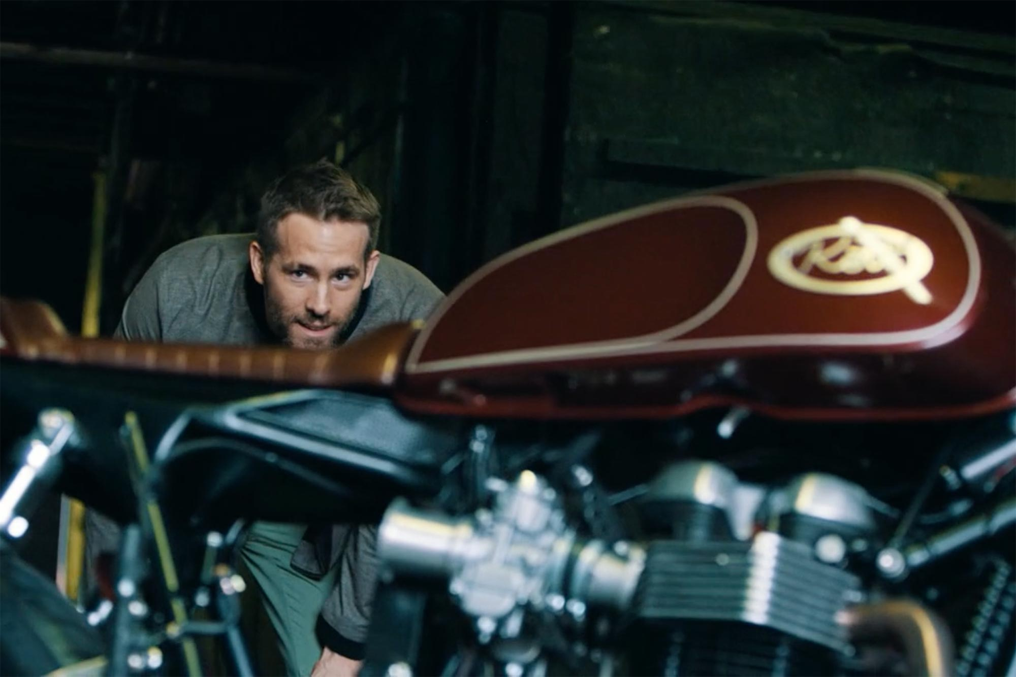 Movie Star Ryan Reynolds Loves His Motorcycles Make Your Own Beautiful  HD Wallpapers, Images Over 1000+ [ralydesign.ml]