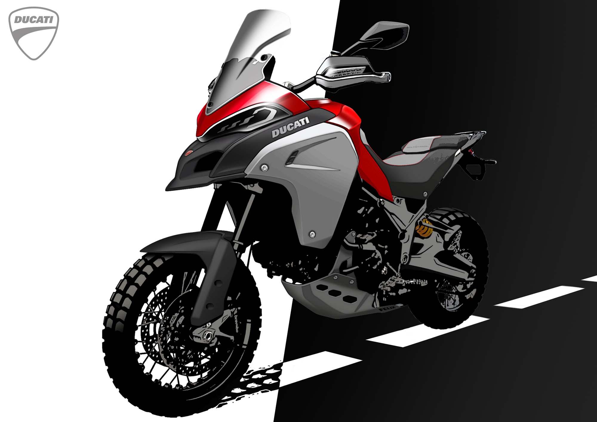 Ducati Multistrada Touring