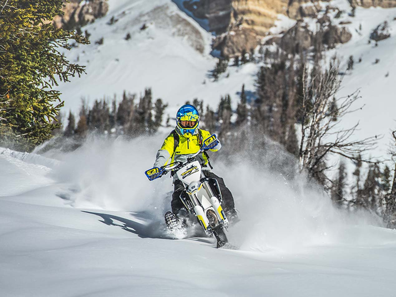 Timbersled Snow Bikes Look Like Serious Fun