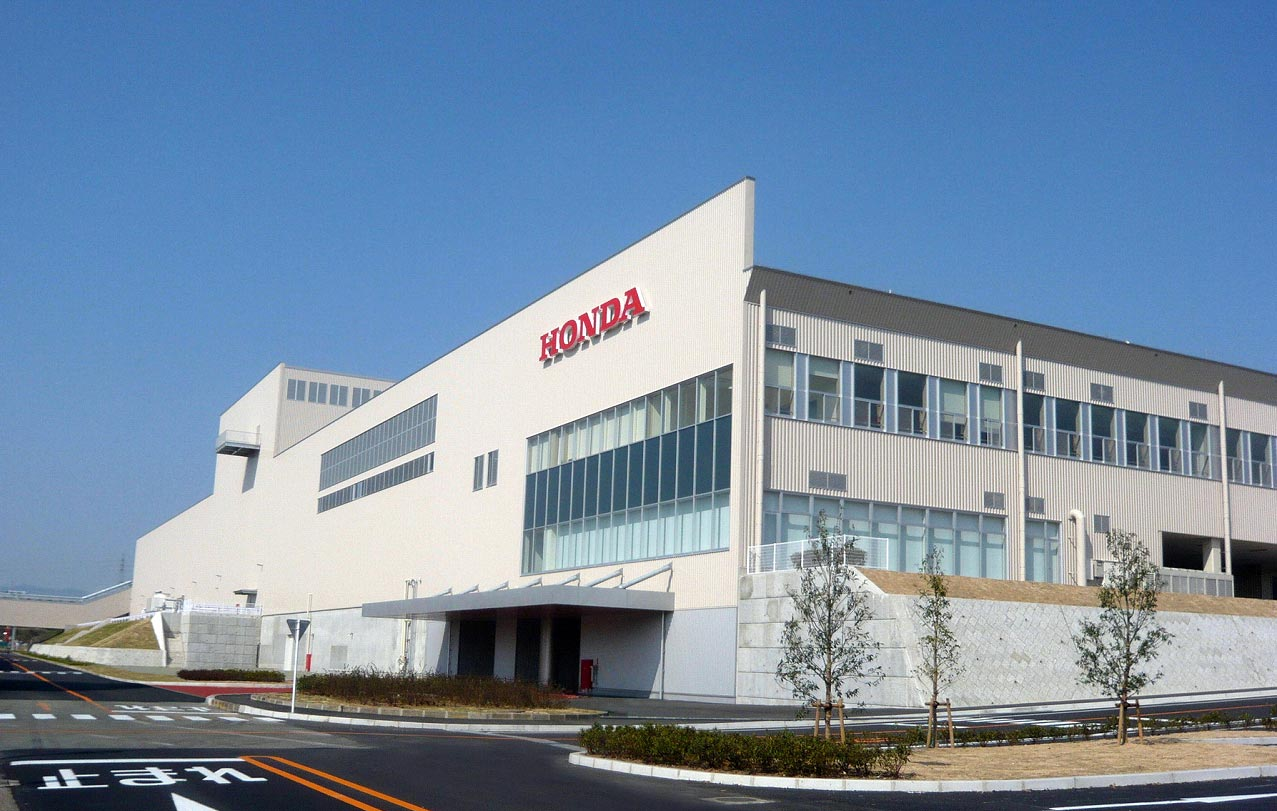 Hondas Kumamoto Factory Back To Normal Production For Large